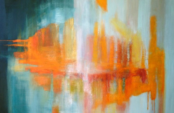 Orange Ice, SOLD